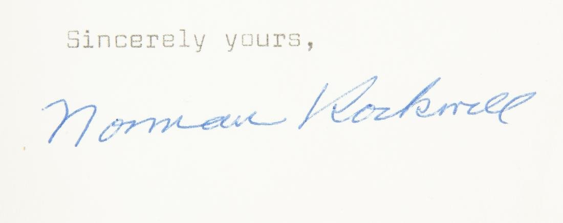 2 Norman Rockwell Signatures - 3