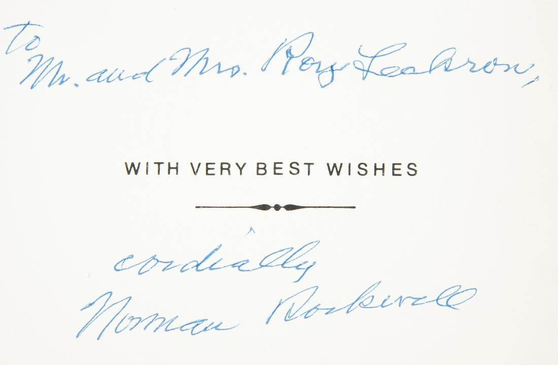2 Norman Rockwell Signatures - 4