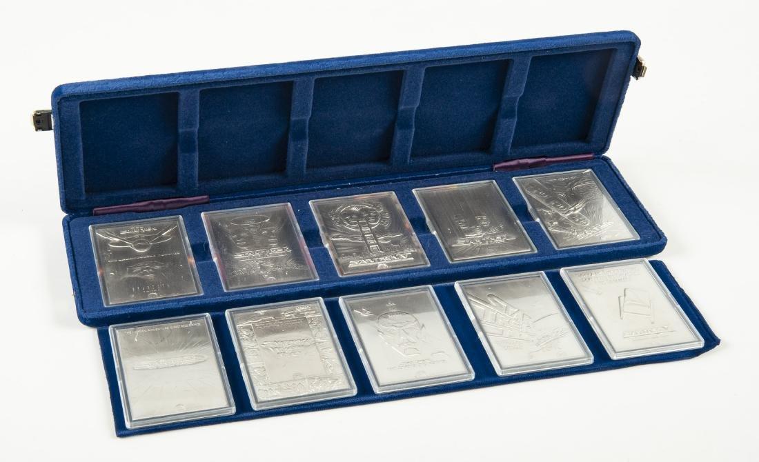 10 .999 Silver Star Trek Ingot Cinema Collection