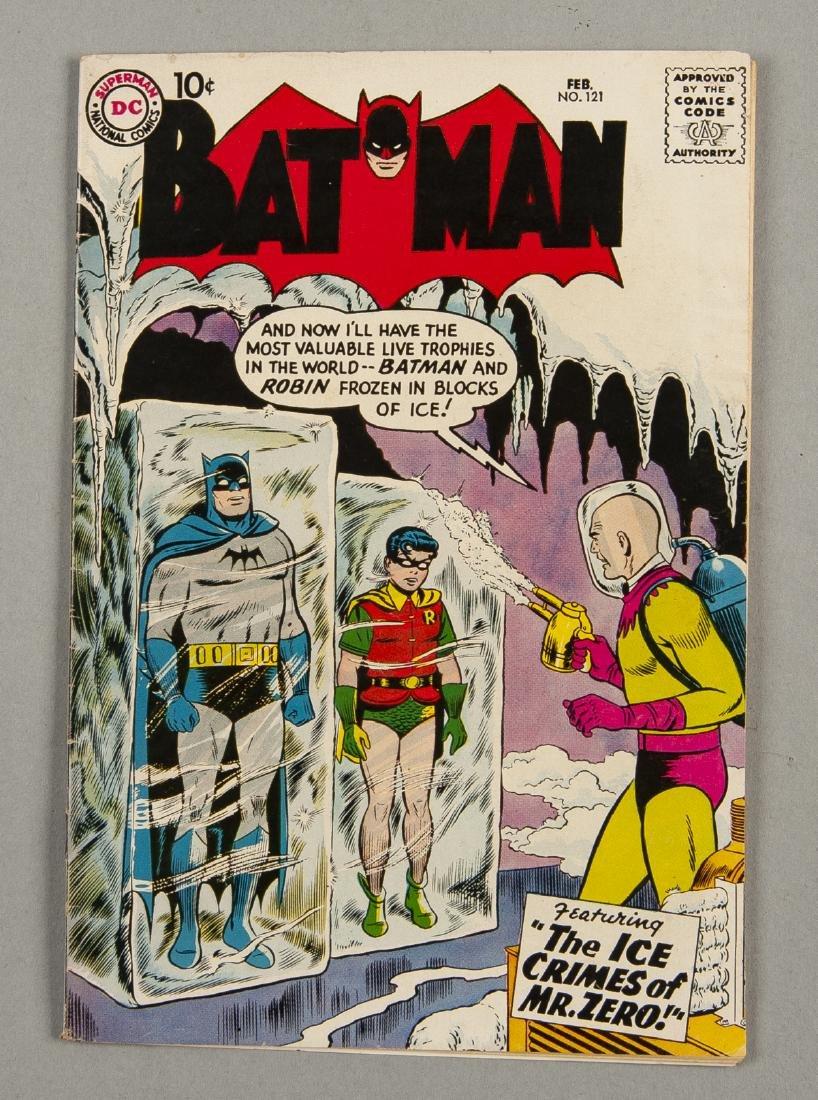 Batman #121 Comic