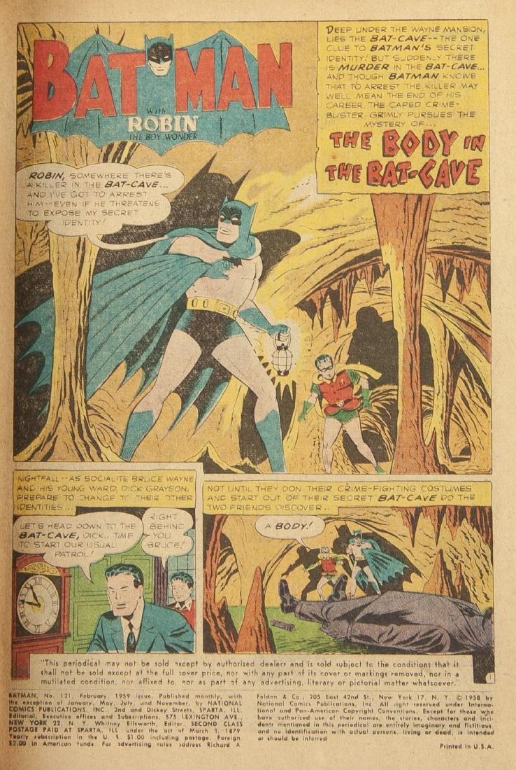 Batman #121 Comic - 3