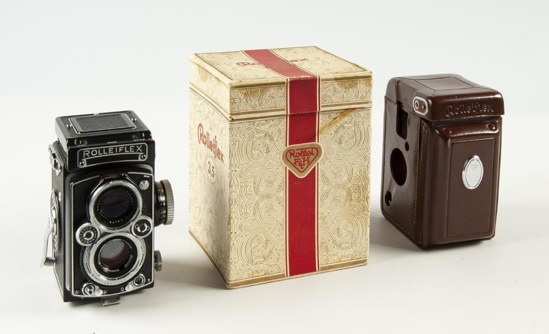 Rollei Rolleiflex 3.5 A Camera in OB