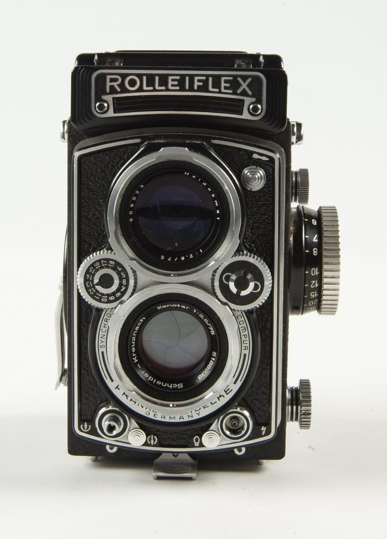 Rollei Rolleiflex 3.5 A Camera in OB - 2