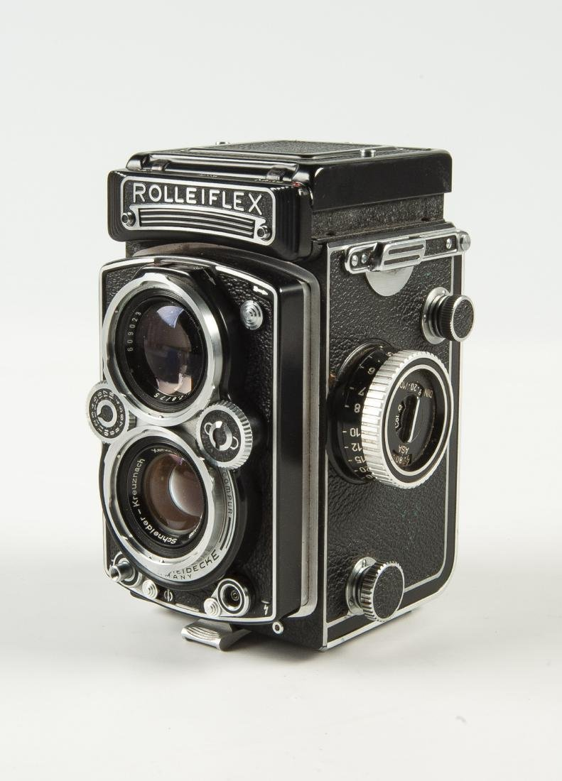 Rollei Rolleiflex 3.5 A Camera in OB - 3