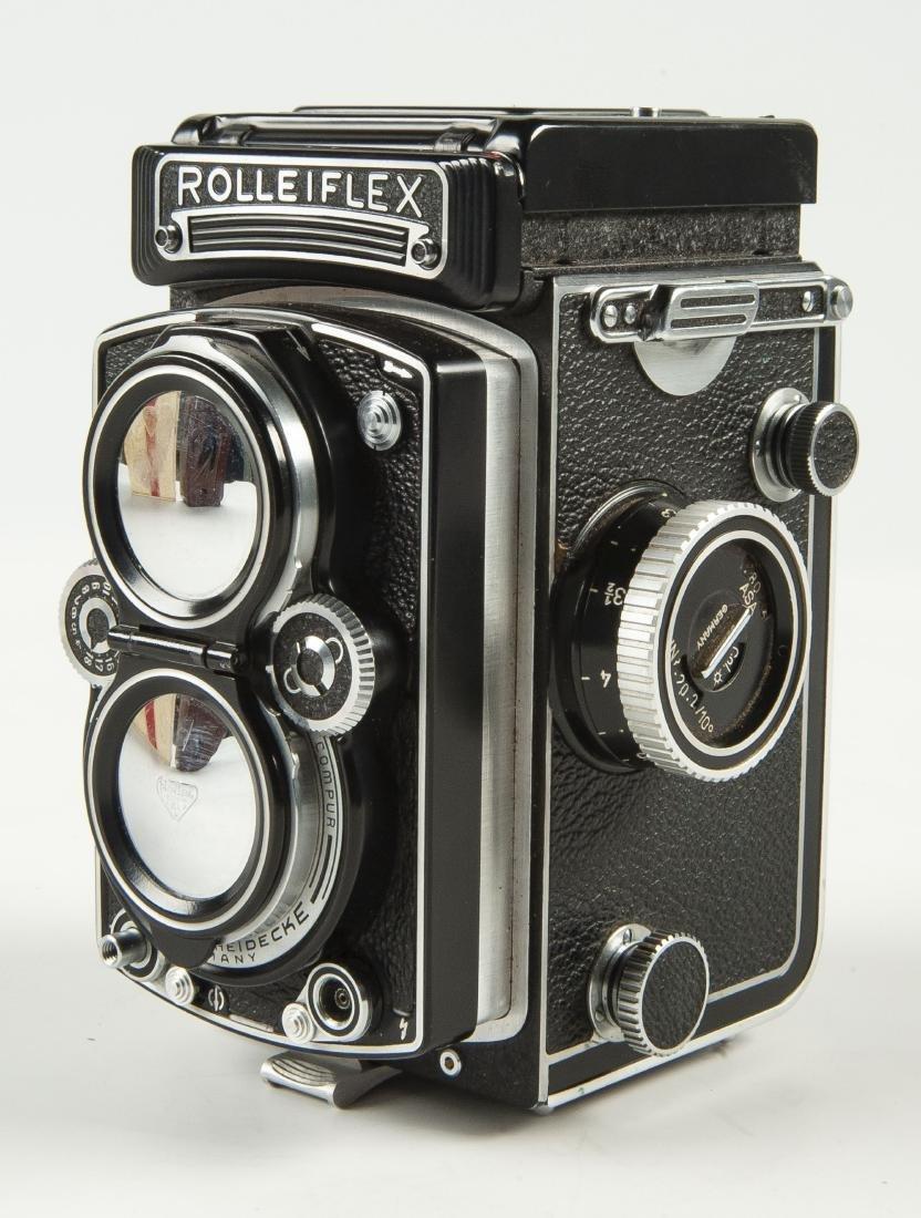 Rollei Rolleiflex 3.5 A Camera in OB - 9