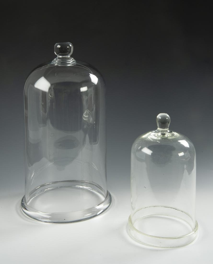 2 Glass Domes