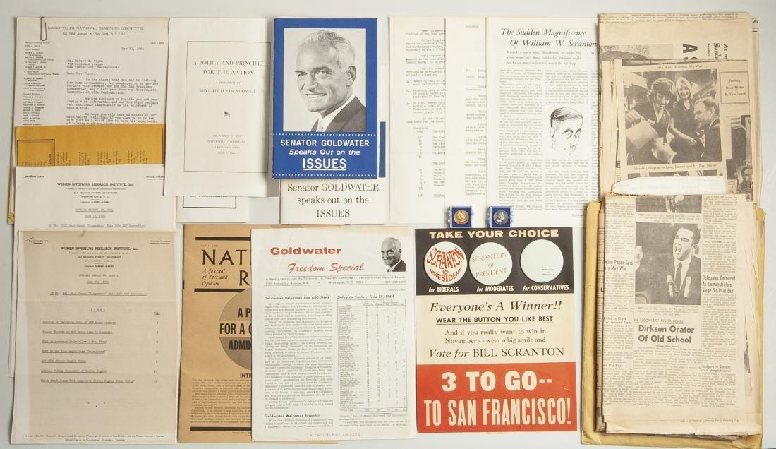 Scranton & Goldwater Political Memorabilia