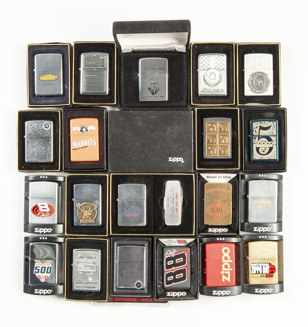20 Zippo Lighters in OBs