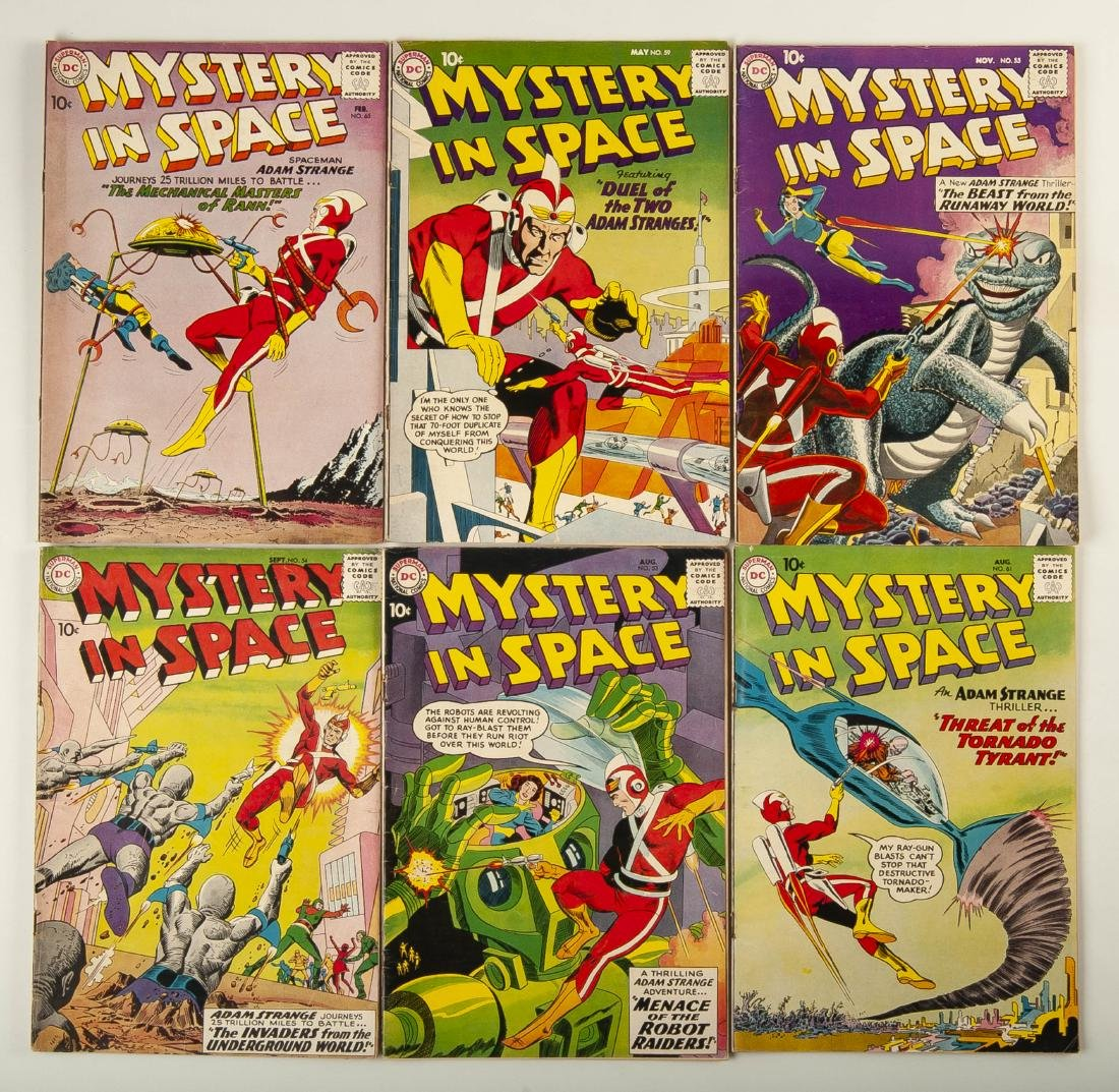 6 Mystery in Space Comics