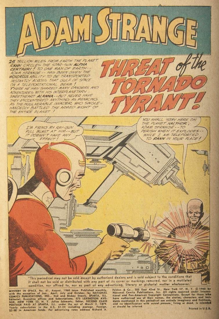 6 Mystery in Space Comics - 3