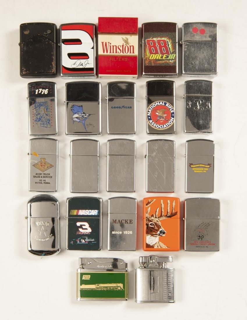 22 Lighters Incl Zippos