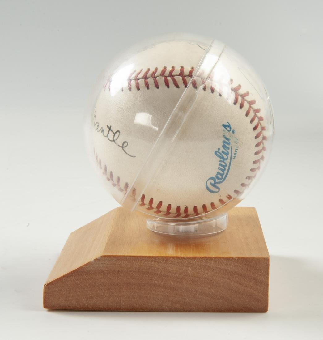 New York Yankees Signed Baseball - 3