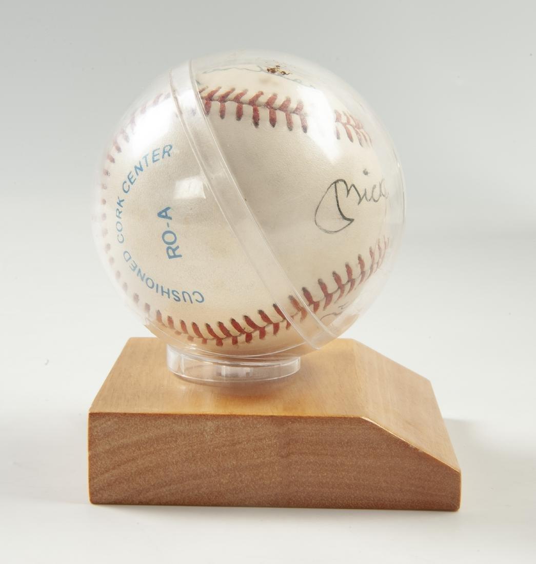 New York Yankees Signed Baseball - 4