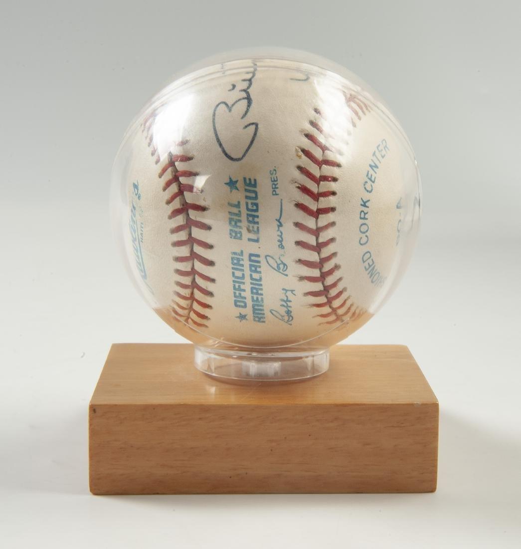 New York Yankees Signed Baseball - 5