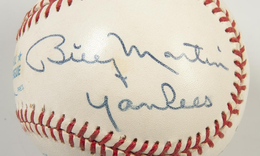 New York Yankees Signed Baseball - 6