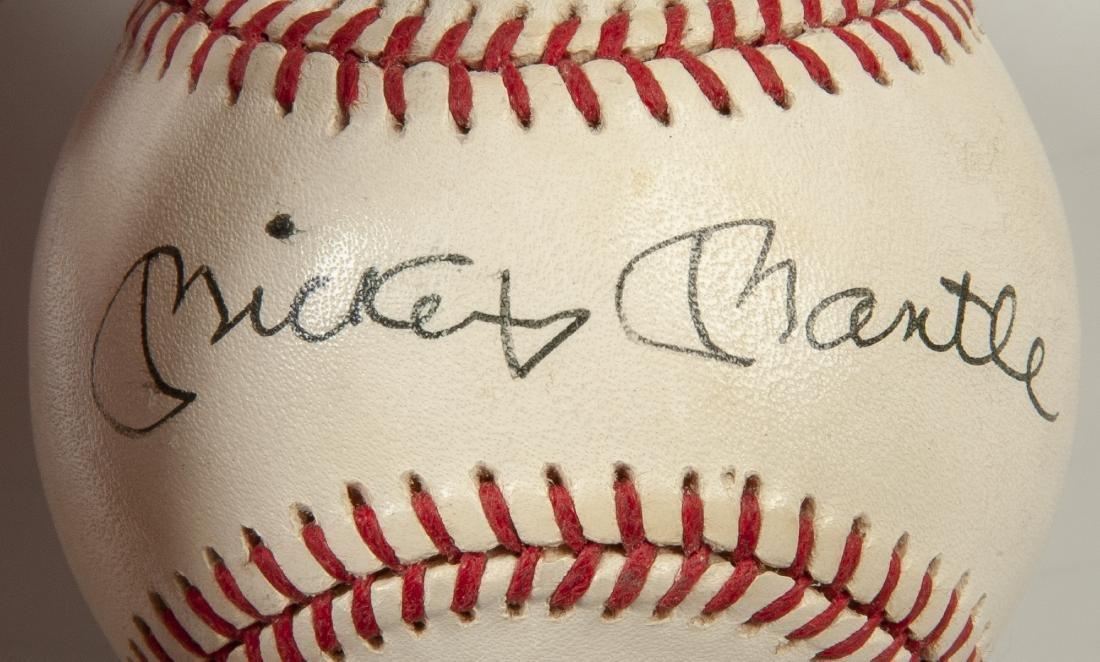 New York Yankees Signed Baseball - 7