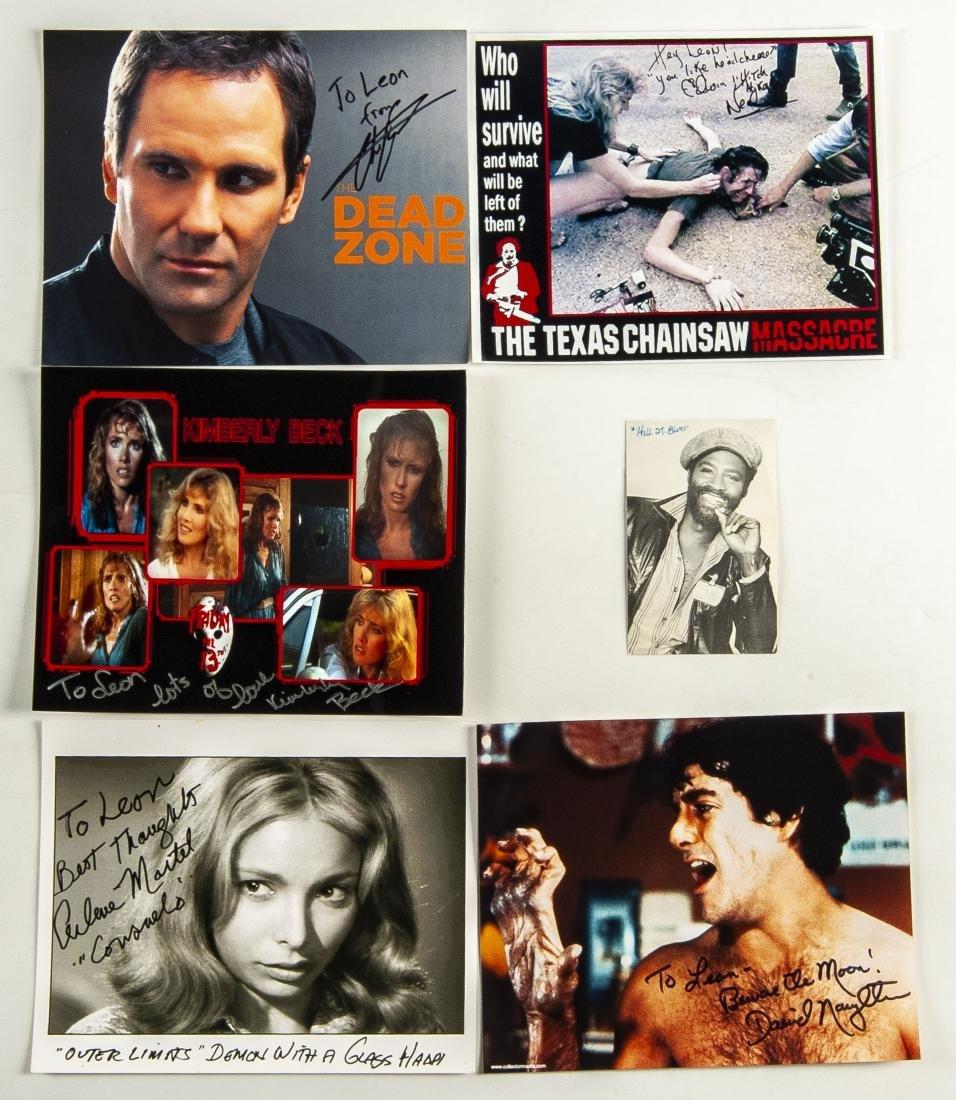 26 Horror Movie Autographed Photos - 3