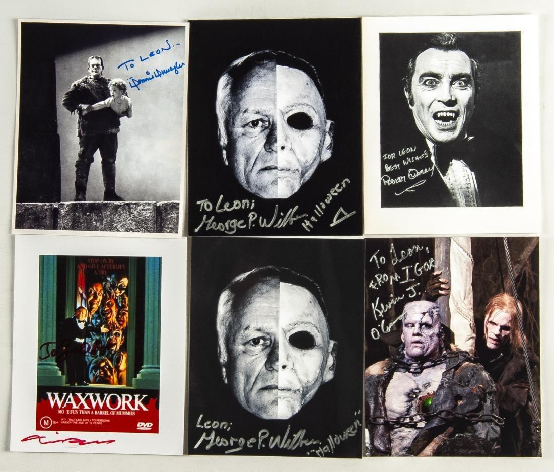 26 Horror Movie Autographed Photos - 4