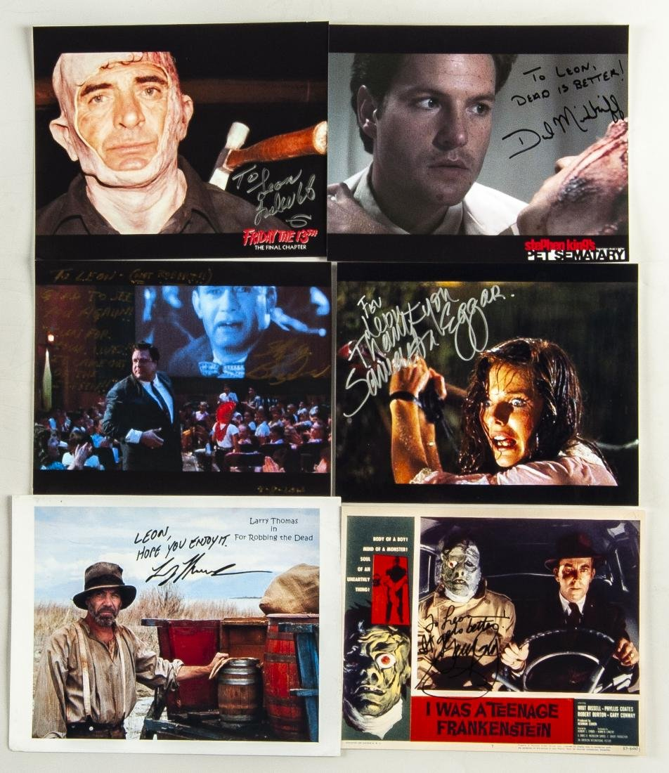 26 Horror Movie Autographed Photos - 5