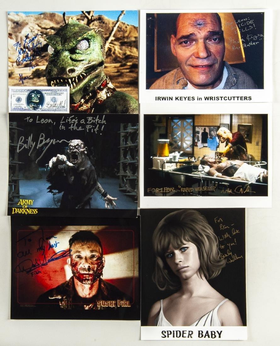 26 Horror Movie Autographed Photos - 6