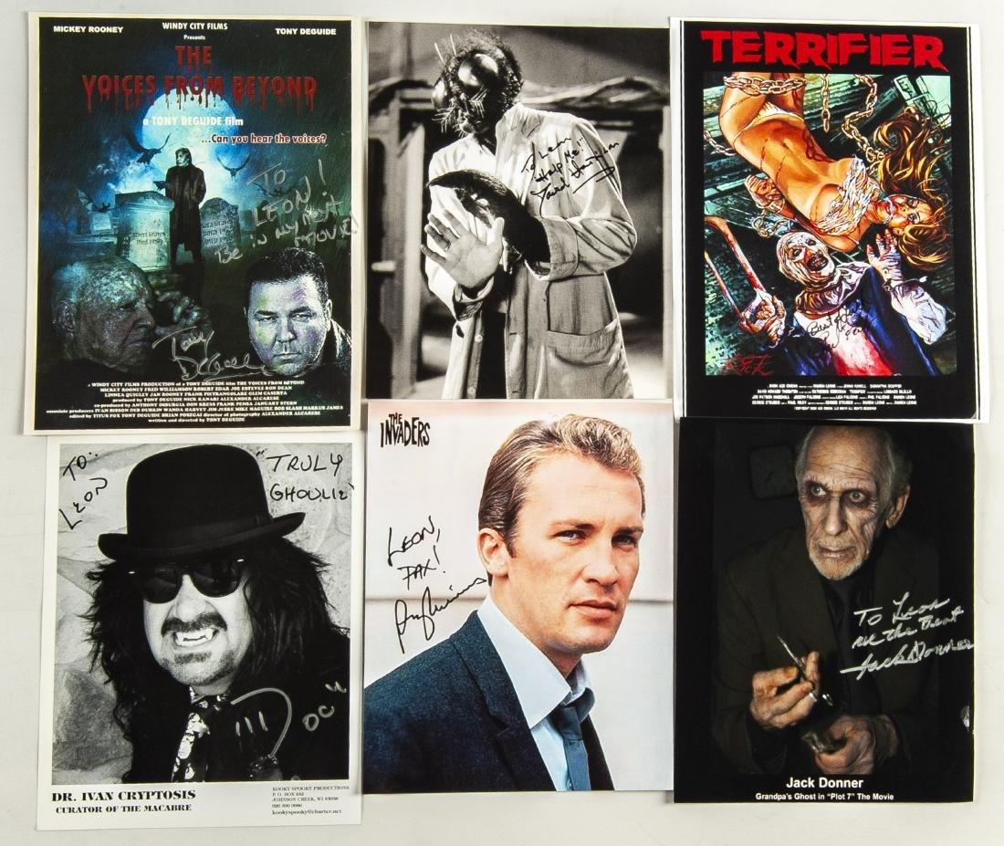 26 Horror Movie Autographed Photos - 7