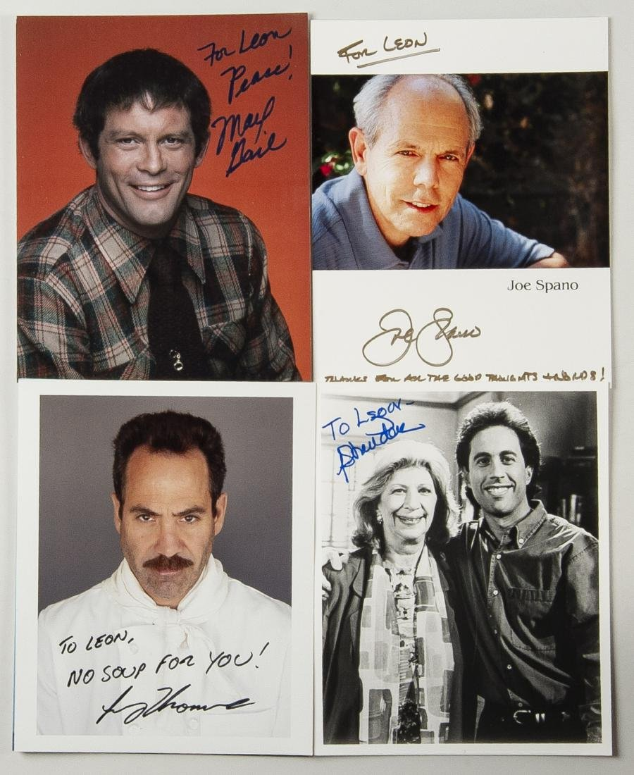 14 Nineties TV Autographed Photos - 2