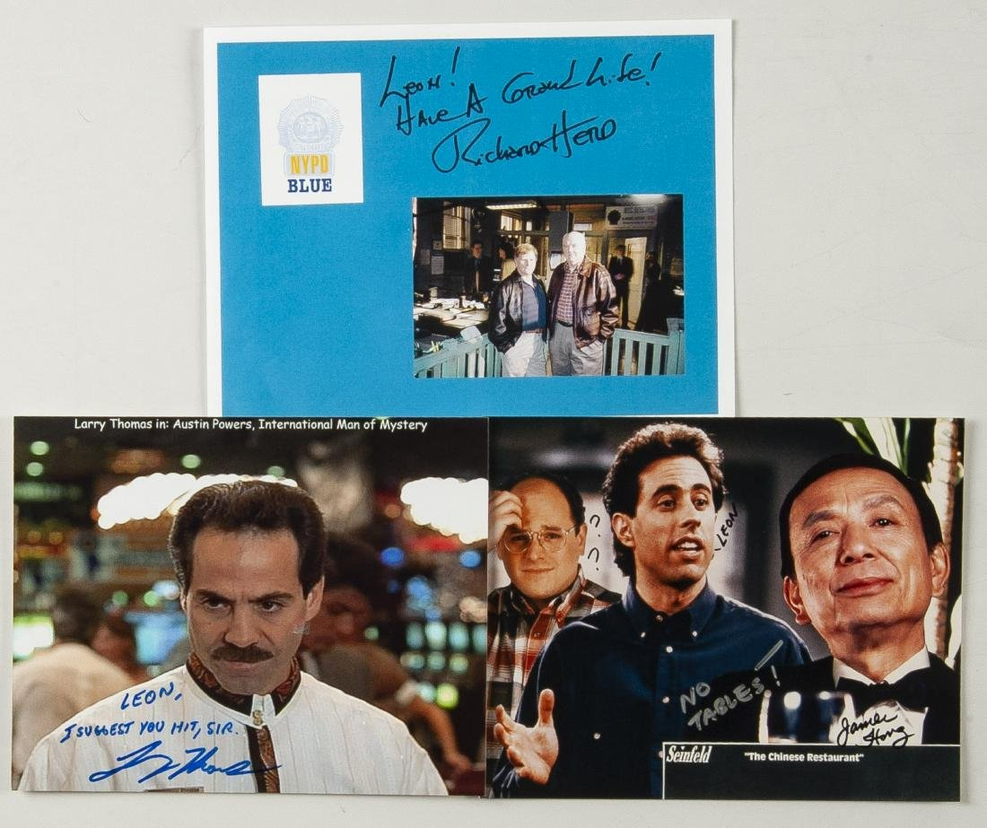 14 Nineties TV Autographed Photos - 4