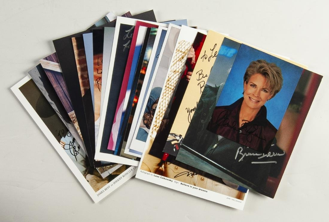 20 Actor Autographed Photos
