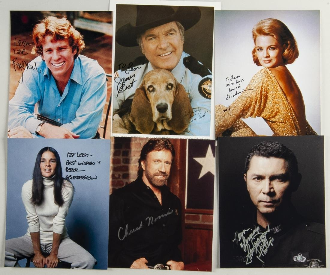 20 Actor Autographed Photos - 2