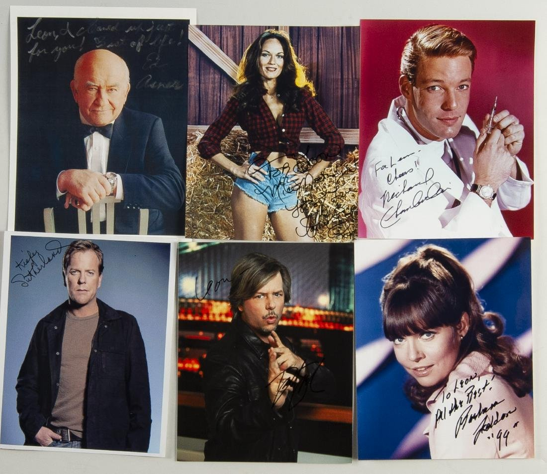 20 Actor Autographed Photos - 3