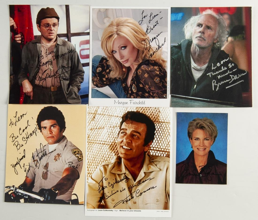 20 Actor Autographed Photos - 4