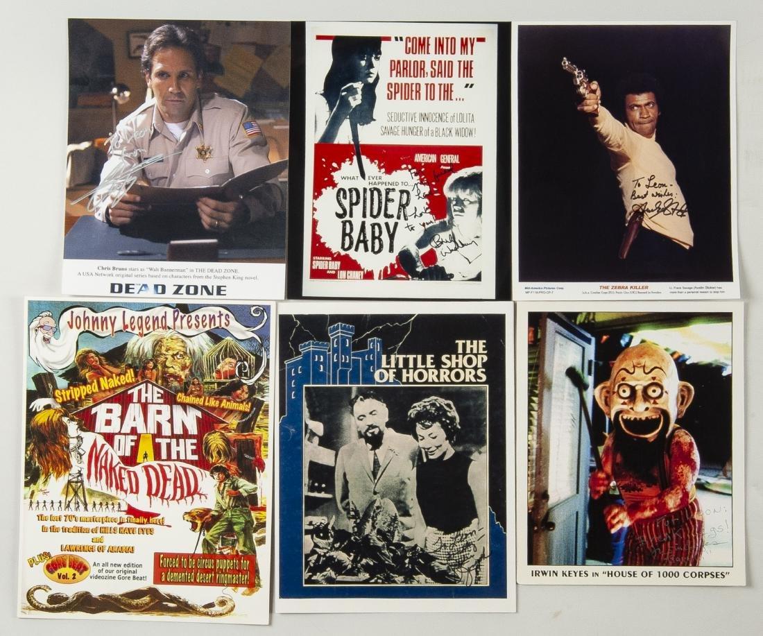 27 Horror Movie Autographed Photos - 2