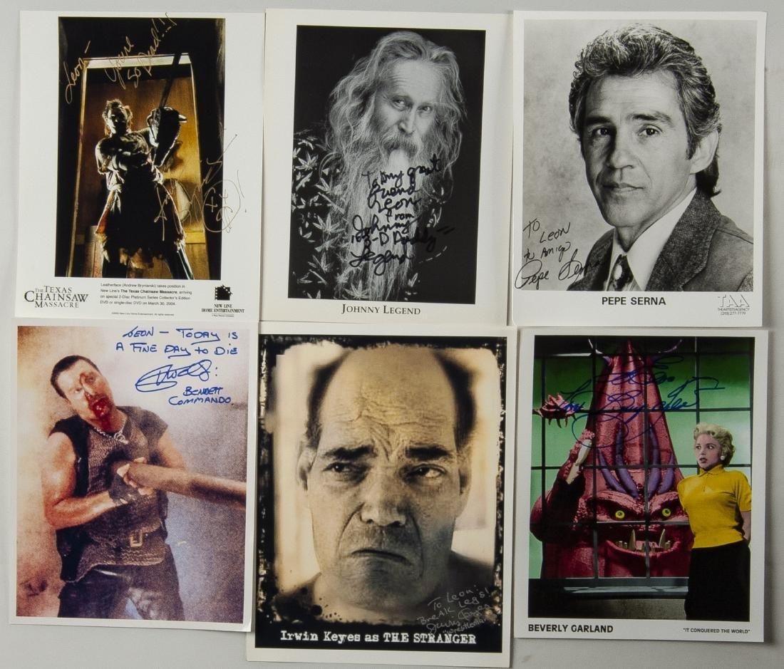 27 Horror Movie Autographed Photos - 3