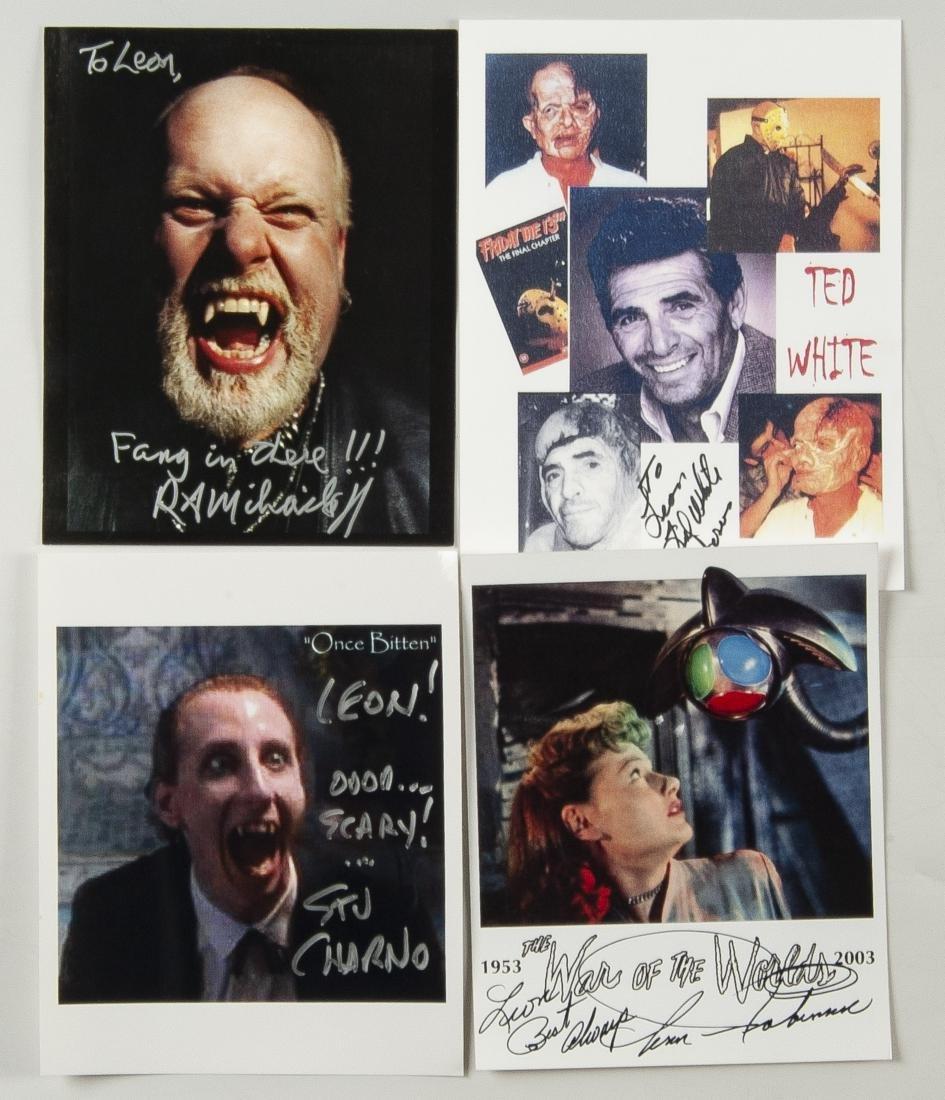 27 Horror Movie Autographed Photos - 4