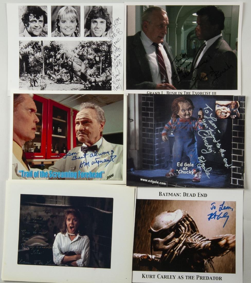 27 Horror Movie Autographed Photos - 6