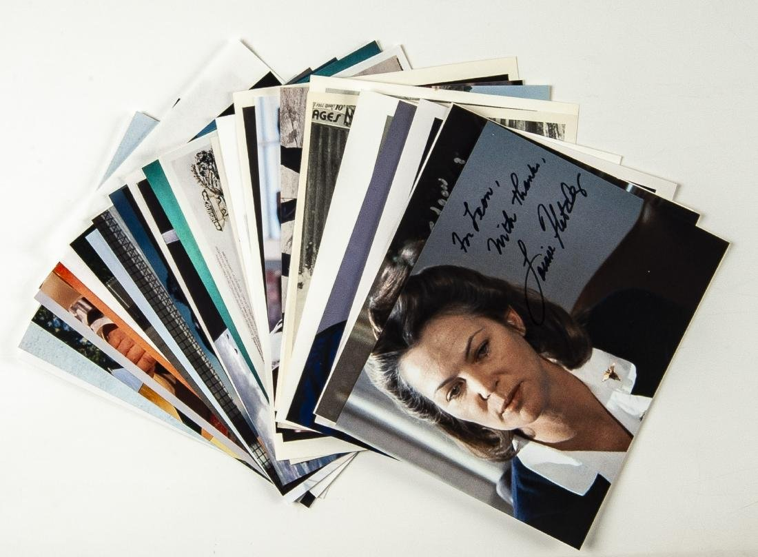 33 Actor Autographed Photos and More