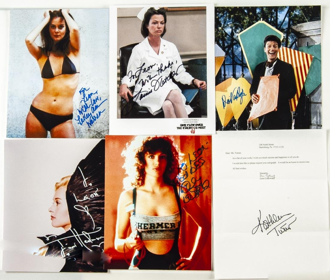 33 Actor Autographed Photos and More - 2