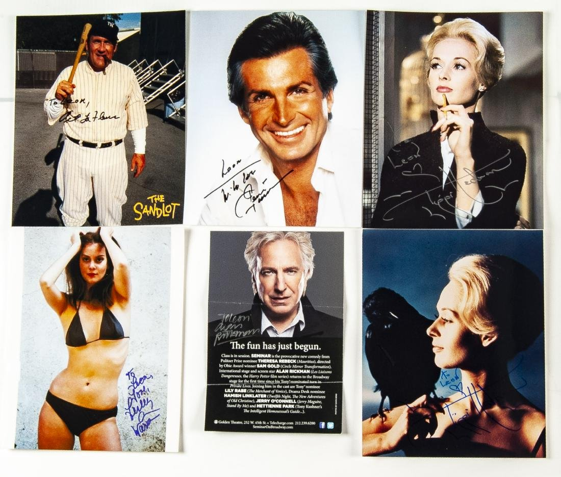 33 Actor Autographed Photos and More - 3