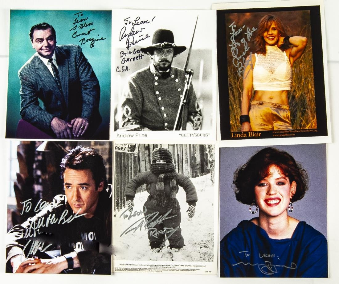 33 Actor Autographed Photos and More - 4