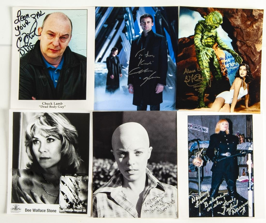 33 Actor Autographed Photos and More - 5