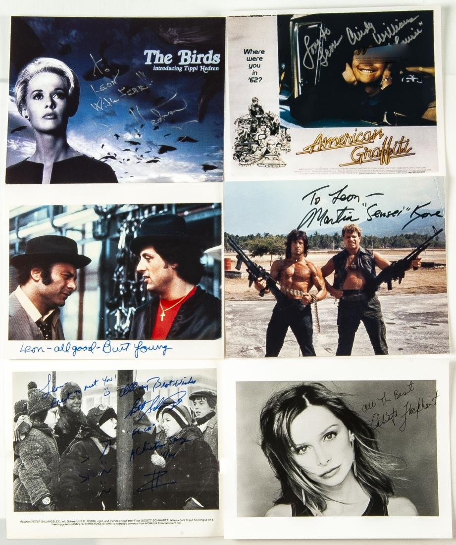 33 Actor Autographed Photos and More - 7