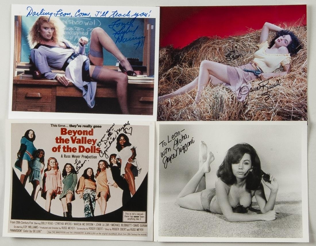 38 Autographed Pin Up Model Photographs - 7