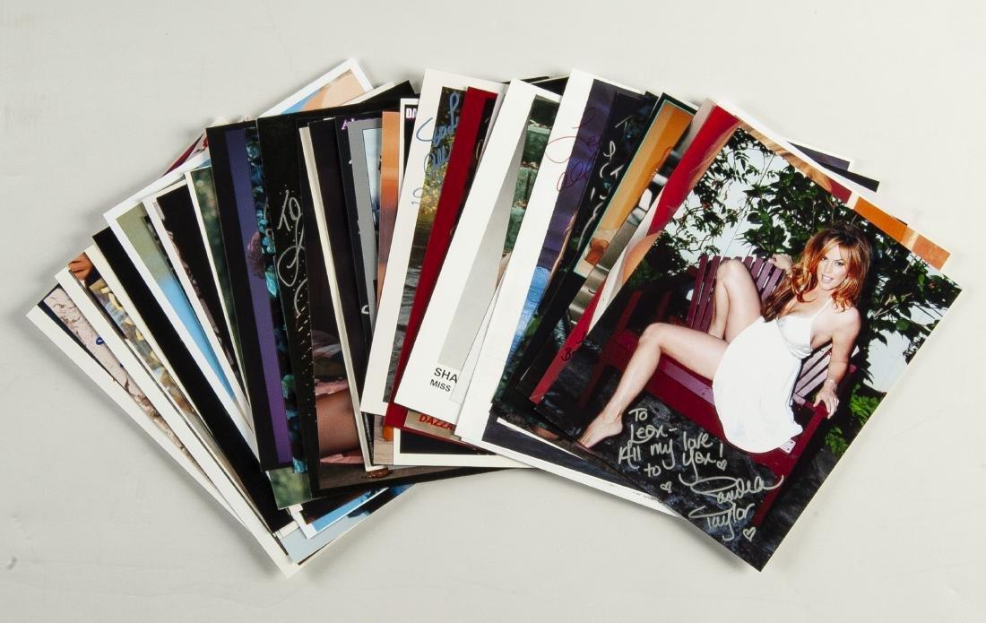 46 Modern Pin-Ups Autographed Photos