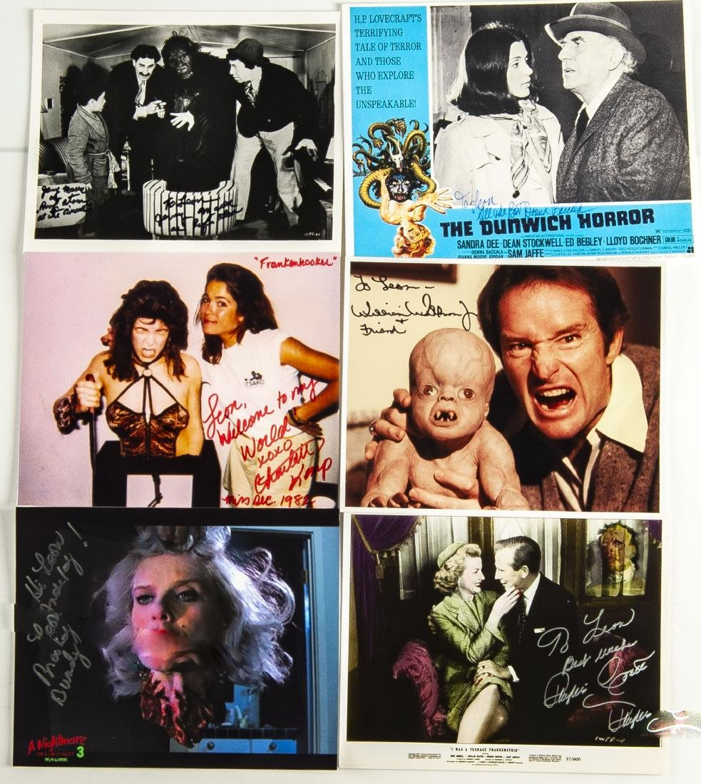 30 Horror Movie Autographed Photos - 3