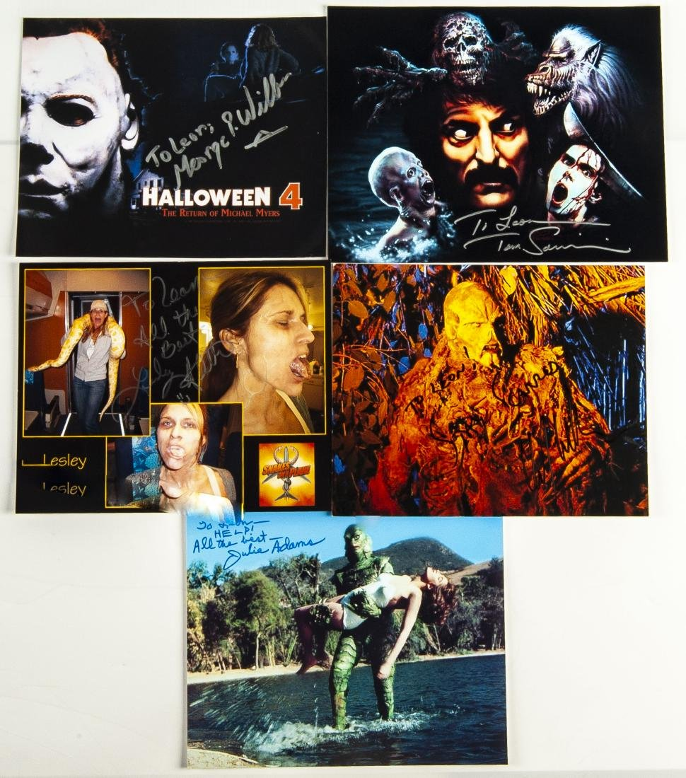 30 Horror Movie Autographed Photos - 4