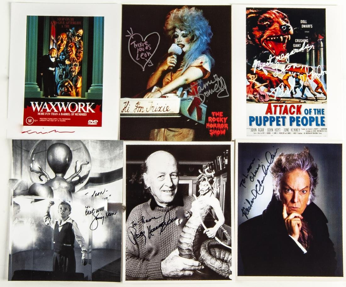 30 Horror Movie Autographed Photos - 5
