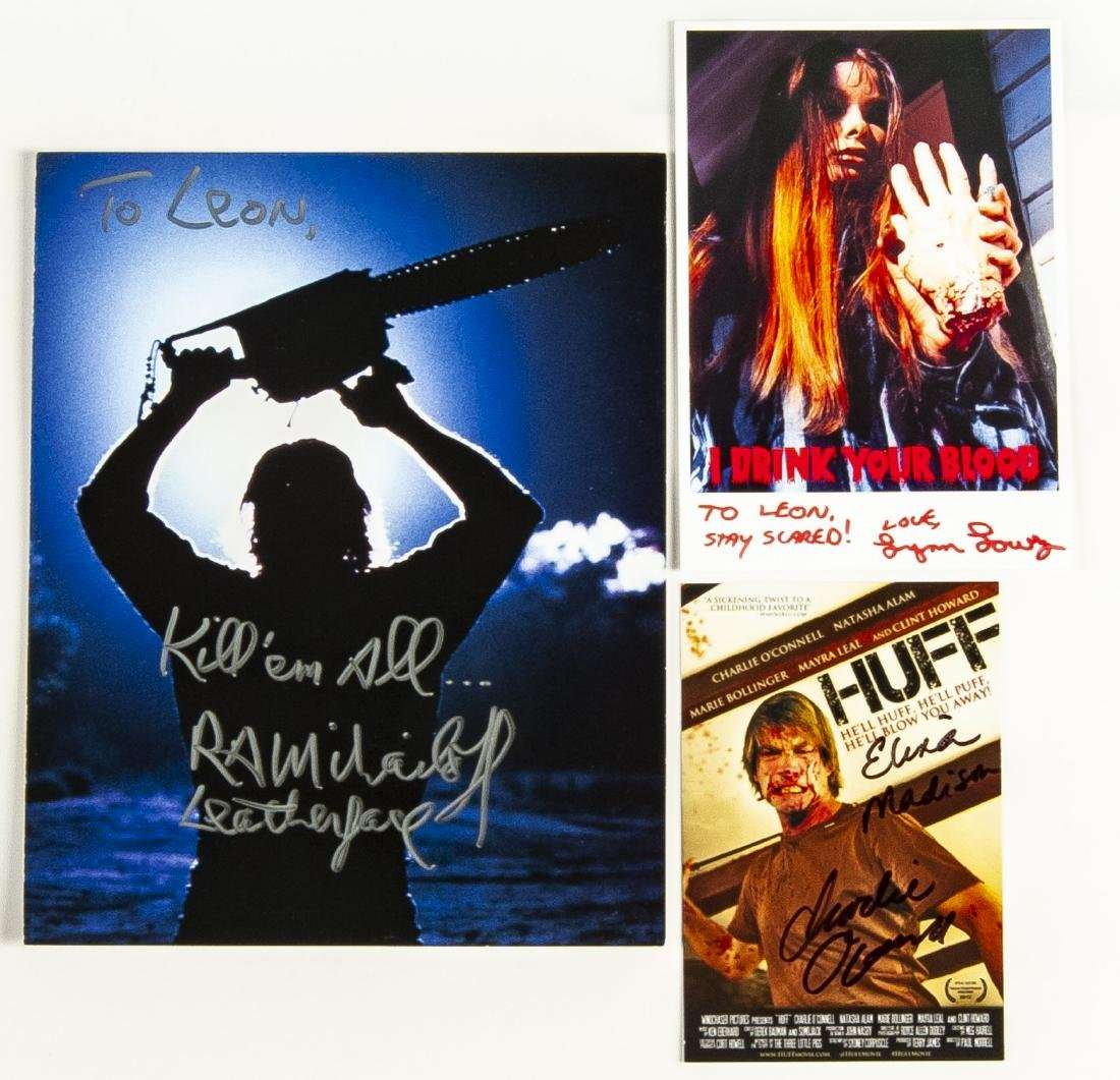 30 Horror Movie Autographed Photos - 6