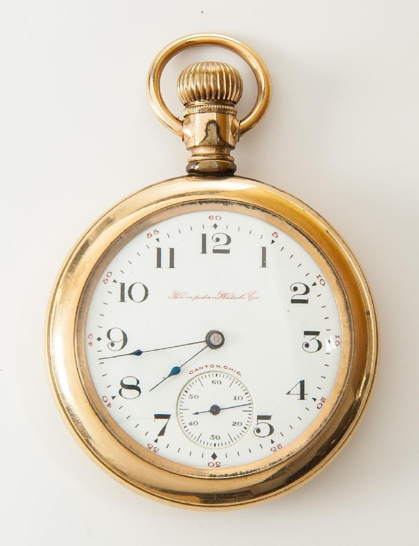 Hampden Watch Co Pocket Watch
