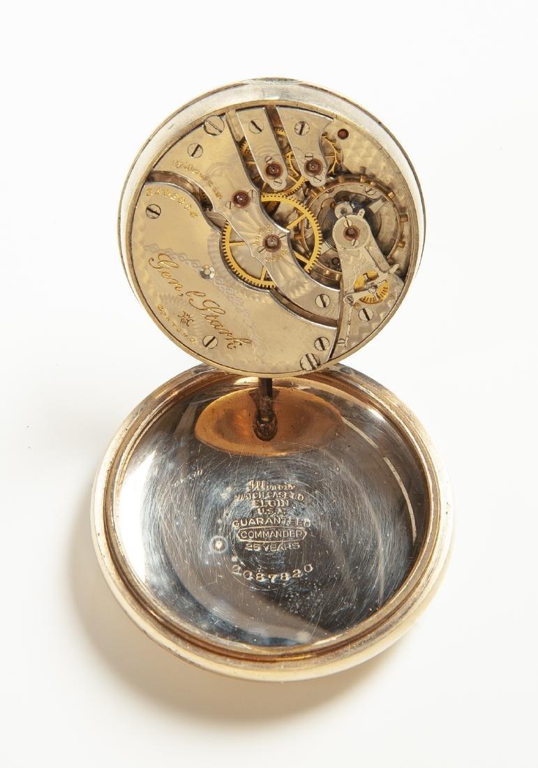 Hampden Watch Co Pocket Watch - 3
