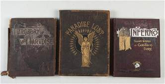 3 Books Illustrated by Gustave Dore